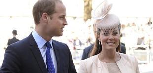 El príncipe Guillermo, con Kate Middleton poco antes de dar a luz | EFE