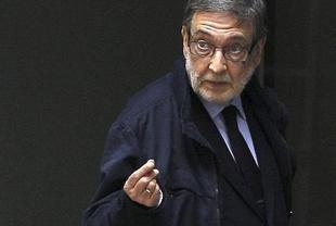 Eugenio Nasarre, a su llegada a la Audiencia Nacional | EFE