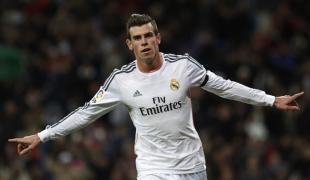 Bale celebra uno de los tantos ante el Valladolid. | Cordon Press
