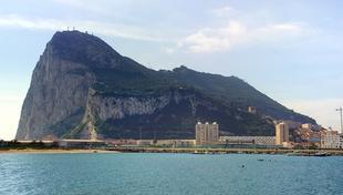 Vista aérea del peñón de Gibraltar. | Archivo