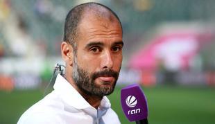Pep Guardiola, tras la goleada de su equipo al Hamburgo. | Cordon Press