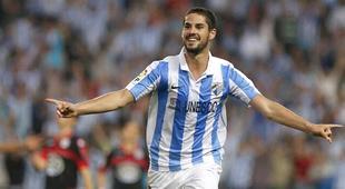 Isco celebra su gol al Deportivo. | EFE