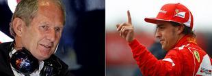Helmut Marko y Fernando Alonso. | LD
