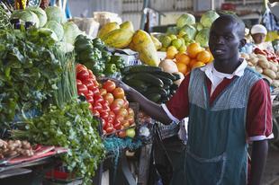Imagen de un mercado en Maputo, Mozambique. | Corbis