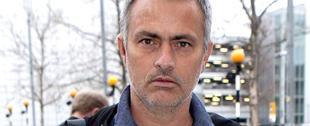 José Mourinho, durante un viaje a Londres el pasado mes de febrero.   Archivo