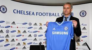Mourinho, en la presentación con el Chelsea | Cordon Press