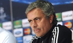 Mourinho, durante la rueda de prensa previa al partido de Old Trafford. | EFE