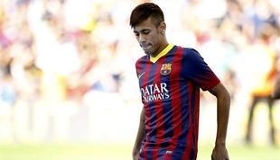 Neymar, en su presentación | EFE