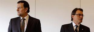 Rajoy y Mas en la inauguración del AVE a Figueres | Cordon Press