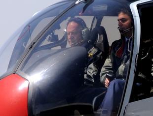 Visita oficial de Su Majestad el Rey a la Base Aérea de Armilla en 2009 / Foto: FAS