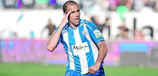 Salva Ballesta, en su etapa en el Málaga | EFE