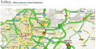Así es nuestro servicio de tráfico. | Libertad Digital
