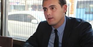 Albert Rivera, líder de Ciutadans, durante la entrevista con Libertad Digital | LD/M. Alonso
