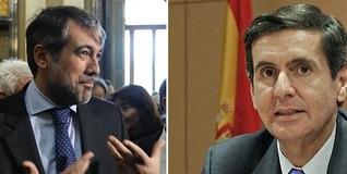 Enrique López y Pedro González Trevijano | EFE