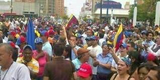 Marcha en Maracaibo   Leslie Chaparro