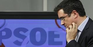 Óscar López en Ferraz este viernes | EFE