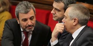 Pere Navarro, durante el debate de la declaración soberanista | EFE