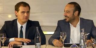 Albert Rivera y Jordi Cañas | EFE