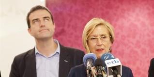 Rosa Díez y Gorka Maneiro | EFE