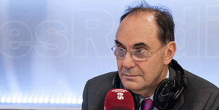 Alejo Vidal-Quadras, en una reciente tertulia en Es la mañana de Federico | LD/Carmelo Jordá