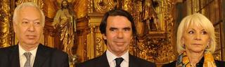 Aznar, con Margallo y Teófila Martínez | FAES