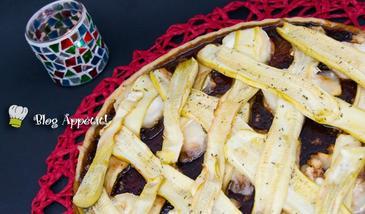 Una exquisita tarta express de calabacín