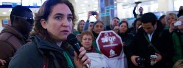 La líder de la PAH, Ada Colau | Archivo