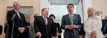 La comparecencia de Adelson y Gonzalez el pasado 16 de octubre   CAM
