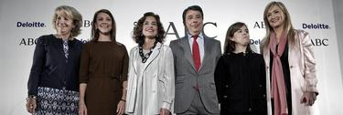 Aguirre, Cospedal, Botella, Santamaría y Cifuentes arropan a Ignacio González | EFE