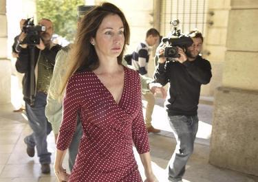 Mercedes Alaya a su llegada al juzgado | EFE
