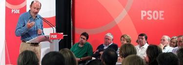 Alfredo Pérez Rubalcaba, secretario general del PSOE. | EFE