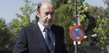 Alfredo Pérez Rubalcaba, esta semana | EFE