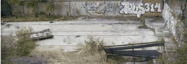 Aspecto que presenta ahora el almacen de Tafesa donde se guardó el vagón de Santa Eugenia | CSR