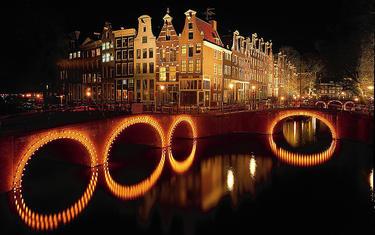 Uno de los típicos canales de la ciudad | I amsterdam