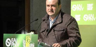 Antonio Ortuzar, presidente del PNV de Vizcaya. | Archivo