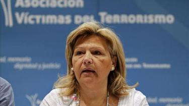 Ángeles Pedraza, presidenta de la AVT, en una imagen de archivo | EFE