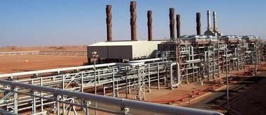 La planta de gas en el desierto | Archivo