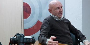 Iñaki Arteta, durante la entrevista. | Carmelo Jordá