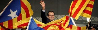Artur Mas en la campaña   EFE