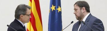 Artur Mas y Oriol Junqueras | EFE