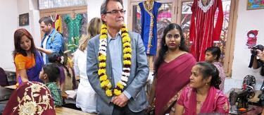 El presidente de la Generalidad, Artur Mas, en la India | EFE