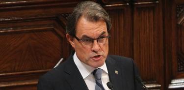 Artur Mas, este miércoles en el Parlamento catalán | EFE