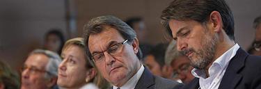 Oriol Pujol y Mas, en la escuela de verano de CDC | EFE