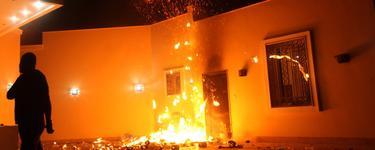 Ataque al consultado estadounidense en Bengasi, Libia.   Archivo
