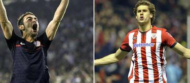Atlético y Athletic, finalistas de la Liga Europa.