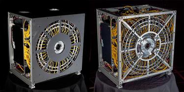 La cámara de 1 gigapíxel Aware-2. | Universidad de Duke