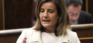 Fátima Báñez, este miércoles en el Congreso   Efe