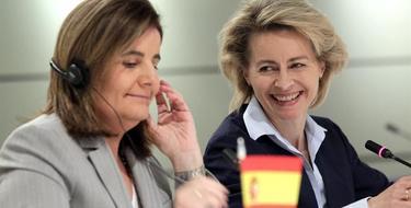 Báñez y Von der Leyen en Madrid | EFE