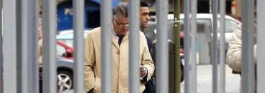Luis Bárcenas a su llegada a los juzgados | EFE