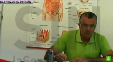 Luis Bárcenas, en la cárcel | Imagen de TV